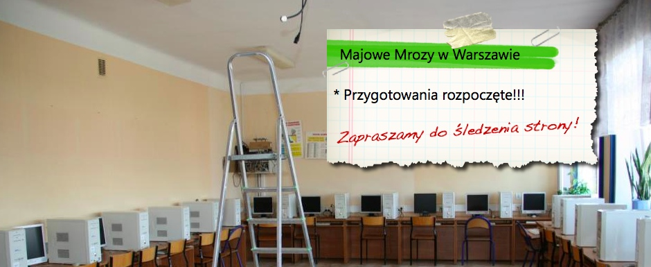 Zapraszamy na XVII edycję konferencji Majowe Mrozy w Warszawie (2017)