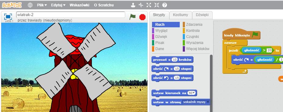 Warsztaty: Realizujemy proste algorytmy w języku Scratch